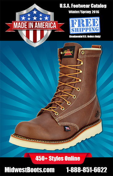 American Made Catalog Safety & Non-Safety Toe Collections