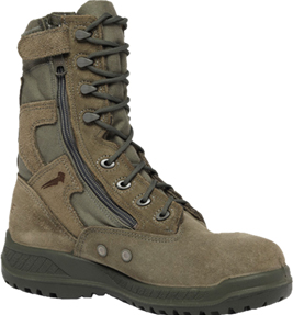 Men's Belleville Steel Toe Side-Zipper Military Boot (U.S.A.) 610ZST