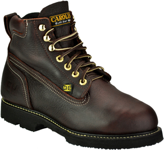 "Men's Carolina 6"" Steel Toe Metguard Boot (U.S.A.) CA509"