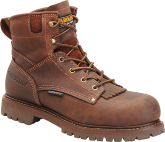 "Men's Carolina Waterproof 6"" Work Boots CA7028"