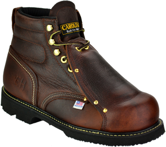 "Men's Carolina 6"" Steel Toe Metguard Boot (U.S.A.) 508"
