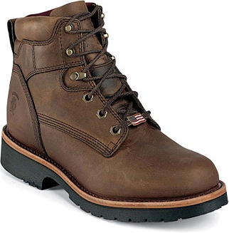 "Men's Chippewa Boots 6"" Insulated Work Boot 25202 