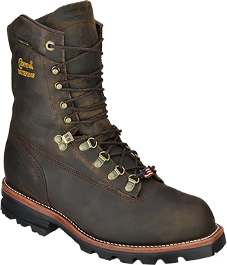 "Men's Chippewa Boots 9"" WP & Insulated Work Boot 25492 