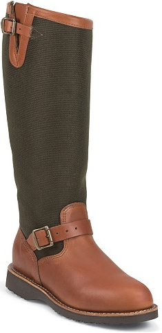 "Women's Chippewa Boots 17"" Pull-On Snake Boot L23913 