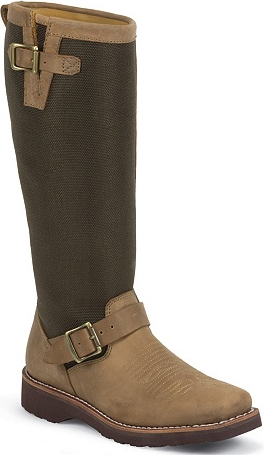 "Women's Chippewa Boots 15"" Pull-On Snake Boot L23914"