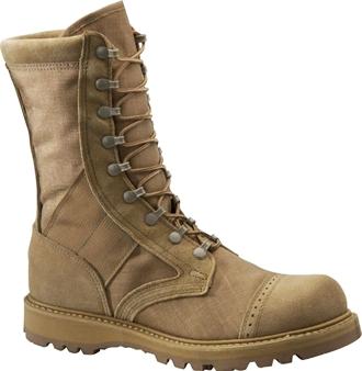 "Corcoran Boot 4330 | Corcoran Men's 10"" Fleshout Leather & Cordura Marauder Combat Boots"