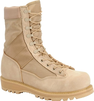 "Corcoran Boot 4390 | Men's 9"" Fleshout Leather & Cordura Non-Insulated Combat Boots"