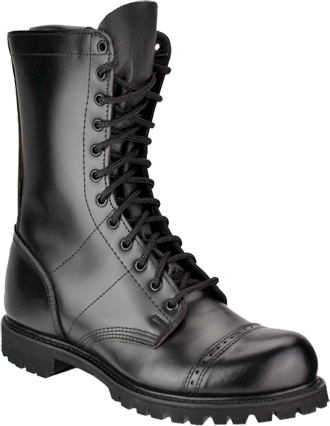"Corcoran Boot 985 | Men's 10"" Leather Side Zipper Field Combat Boots"
