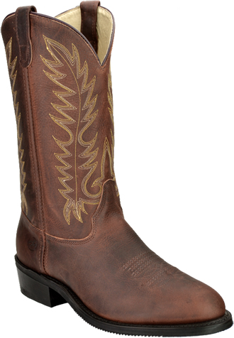 "Men's 12"" Double H Western Work Boot 1546  