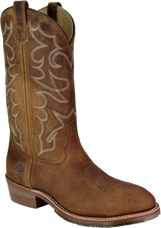 "Men's Double H 12"" Steel Toe Western Boot (U.S.A.) DH1592"