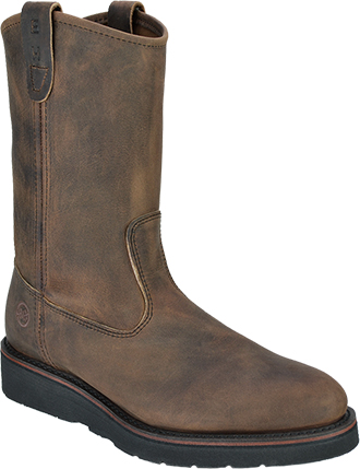 "Men's Double H 11"" Steel Toe Wellington Wedge Sole Boot (U.S.A.) DH3820"