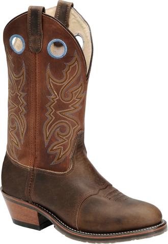 Men's Double H Cowboy Boots DH1532 | Chocolate ICE Buckaroo Work Western
