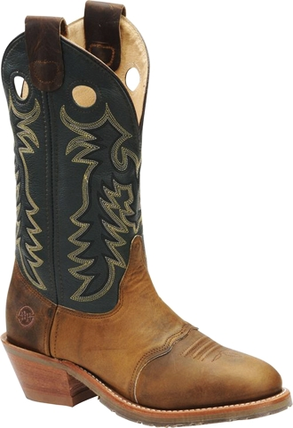 "Men's Double H Cowboy Boots DH1571 | 12"" Domestic Buckaroo"