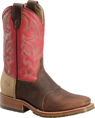 Men's Double H Cowboy Boots DH3556 | Square Toe Old Town Roper