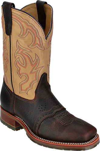 Men's Double H Western Boot DH4305 - USA Made Square Toe Roper