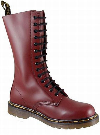 Dr Martens Work Boot 1914 Cherry Red