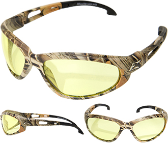 Edge Dakura Non-Polarized Camo Safety Glasses SW112CF