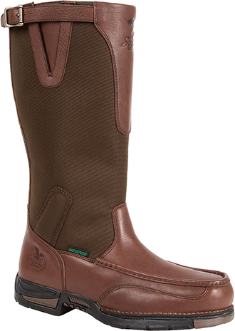 "Men's Georgia Boot 14"" Waterproof Snake Boot G075"