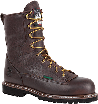 "Men's Georgia Boot 8"" Waterproof Logger Work Boot G101"