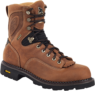 "Men's Georgia Boot 8"" Waterproof Logger Work Boot G026"