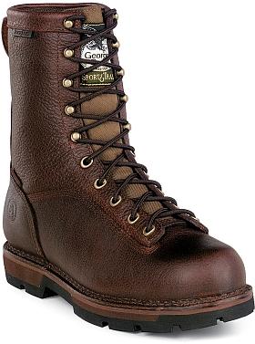 "Men's 8"" Georgia Boot Work Boot GEG8013"