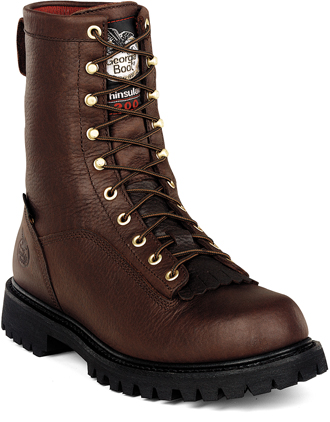 "Men's Georgia Boot G8043 | Georgia Boot 8"" Work Boots"
