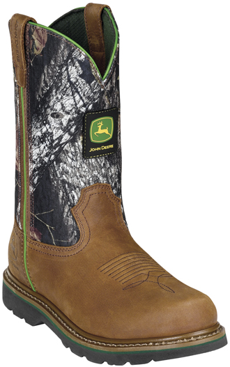 "Men's John Deere 11"" Work Boots JD4148"