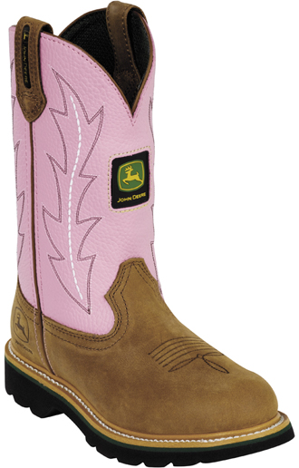 "Women's John Deere 10"" Work Boots JD3285"