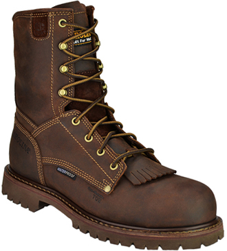 "Men's 8"" Carolina Waterproof Work Boot CA8028"