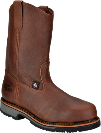 "Men's Thorogood 10"" Steel Toe Wellington Work Boot (U.S.A.) TH804-4822"