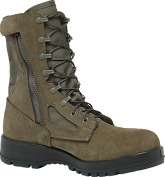 Men's Belleville Composite Toe Side-Zipper Military Boot (U.S.A.) 639ZCT