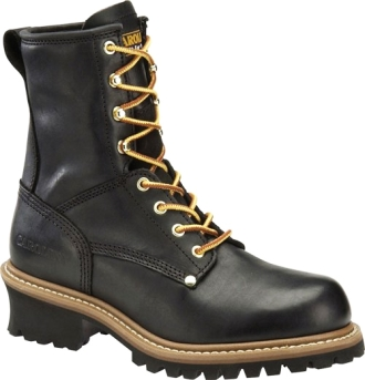 "Men's Carolina 8"" Logger Work Boots CA825"