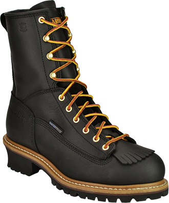 "Men's Carolina 8"" Waterproof Logger Work Boots CA8825"