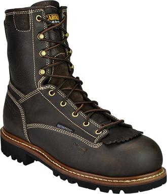 "Men's Carolina 8"" Insulated Waterproof Work Boots CA7013"
