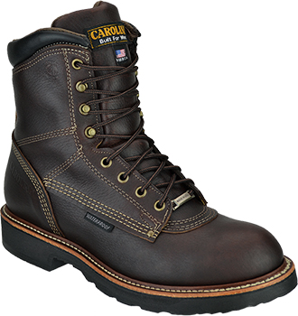 "Men's Carolina 8"" Waterproof Work Boots CA816 