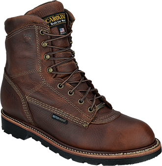"Men's Carolina 8"" Waterproof Work Boots CA818 