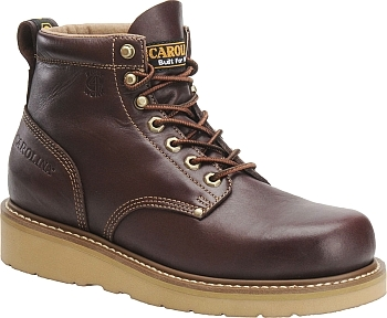 "Men's Carolina Boot CA3049 | Carolina 6"" Broad Toe Wedge Work Boots"