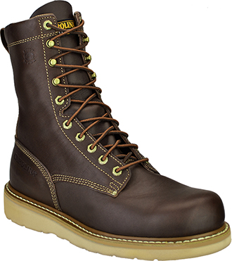 "Carolina Men's Work Boots CA8049 | Carolina 8"" Broad Toe Wedge Boot"