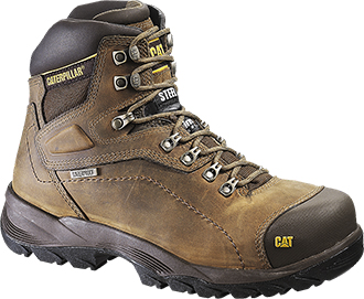 Men's Caterpillar Diagnostic HI Waterproof & Insulated Work Boots P73687
