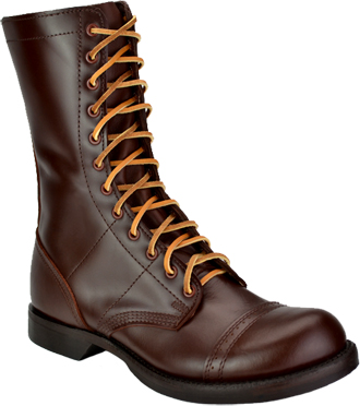 Men's Corcoran Military Boots 1510 | 10� Historic Leather Jump Boots