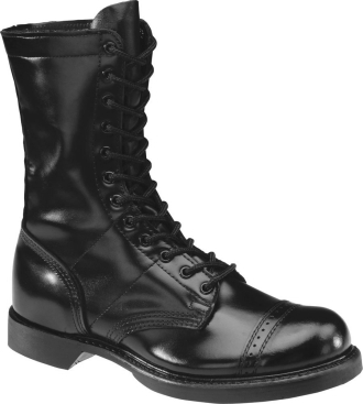 "Men's Black Knight and HH Brand 10"" Combat Jump Boots 975  