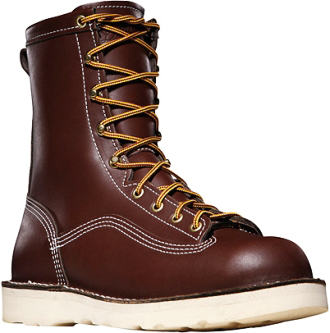 "Men's Danner 8"" Composite Toe WP Wedge Sole Work Boots (U.S.A.) 15210"