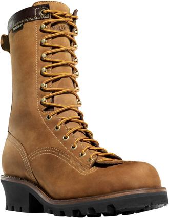 """Men's Danner 10"""" Quarry Logger Work Boot 14573"""