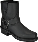 Men's Dingo Side Zipper Harness Boots DI19090  |  Rev Up Boots