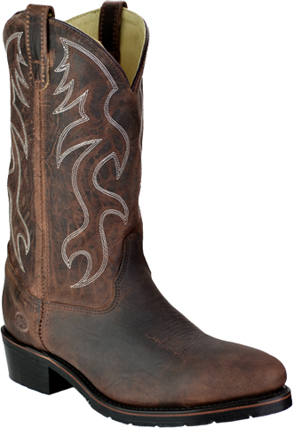"Men's 12"" Double H Western Work Boot 3282  (USA Made)"