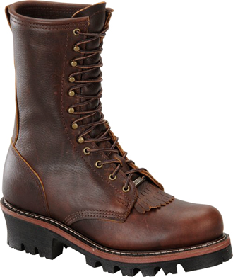 "Men's Double H 9"" Logger Work Boot DH1200  