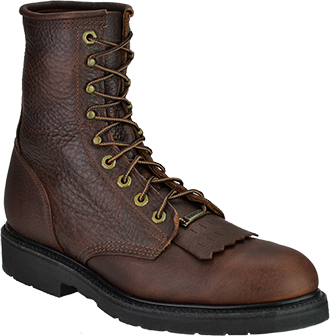 "Men's Double H 8"" Steel Toe Western Boot (U.S.A.) DH9814"