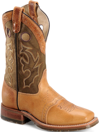 "Men's Double H 11"" Western Roper Boot DH4407  