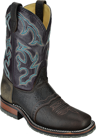 Men's Double H Western Boots DH4302  |  USA Made Square Toe ICE Roper