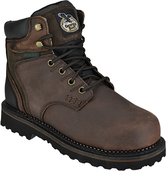 "Men's Georgia Boot 6"" Brookville Waterproof Work Boots G7134"